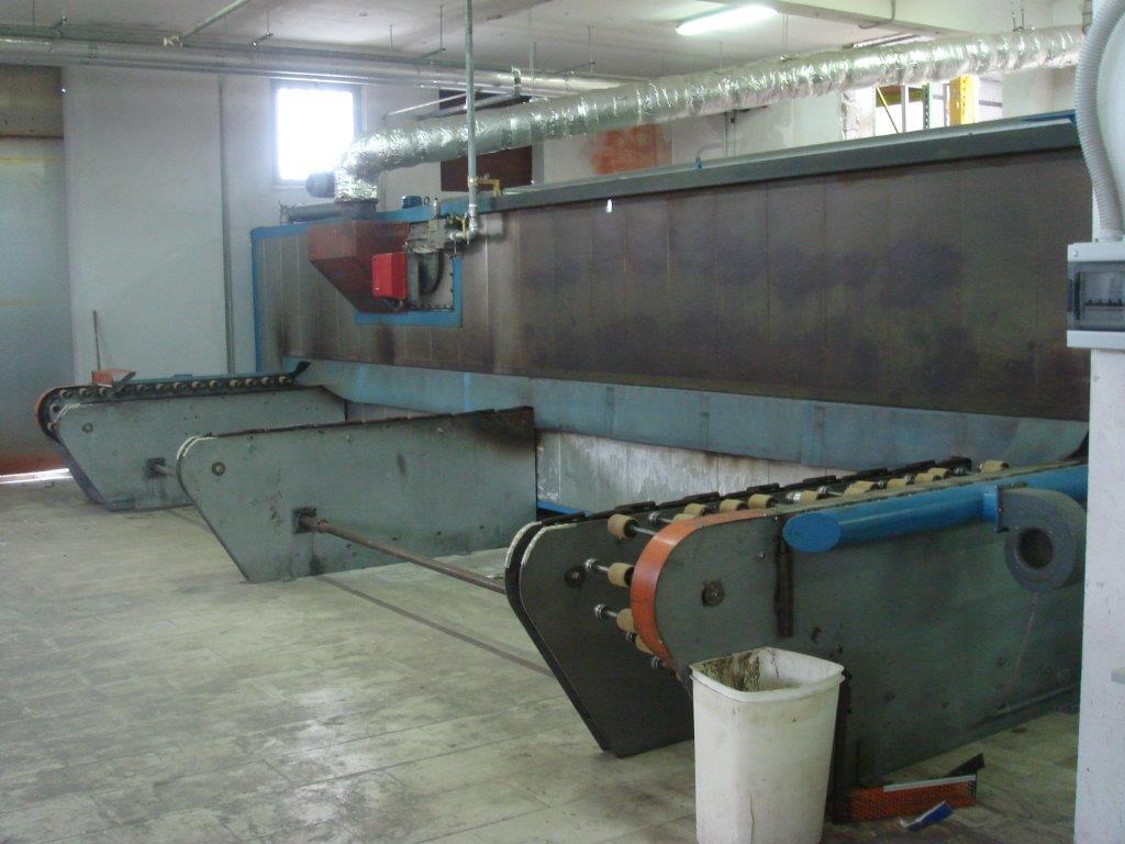 impianto di sublimazione e pressa a caldo