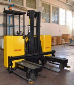 TWO-WAY RETRACTILE FORKLIFT TRUCKS,
