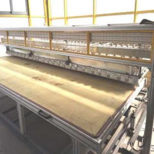 AUTOMATIC MACHINE PL4015/ P FOR THE DECORATION OF ALUMINUM SHEETS